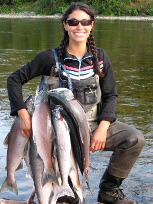 Stephanie Alaska Fishing Guide